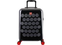 LEGO Luggage ColourBox Brick Dots 20 Černý Šedý