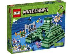 LEGO Minecraft 21136 Památník v oceánu - Poškozený obal