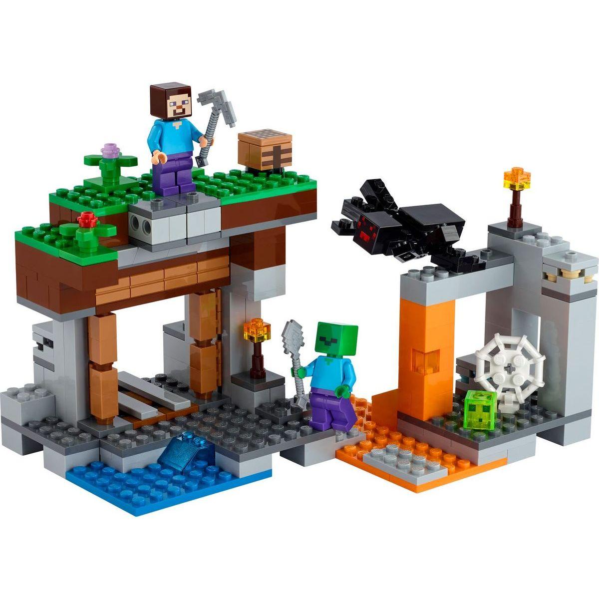 LEGO Minecraft 21166 Důl - Opuštěné