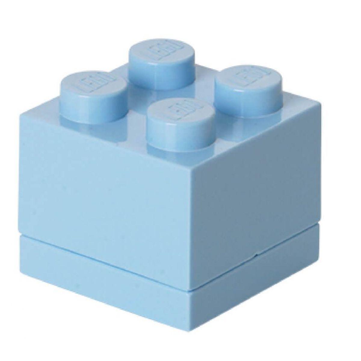 LEGO Mini Box 46 x 46 x 43 světle modrá