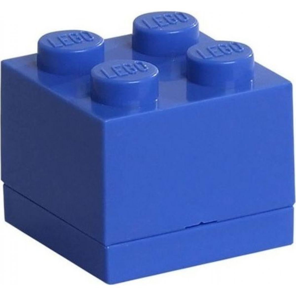 LEGO Mini Box 4,6x4,6x4,3cm Modrá