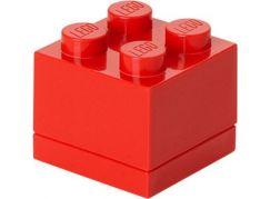 LEGO Mini Box 4,6x4,6x4,3cm Červená