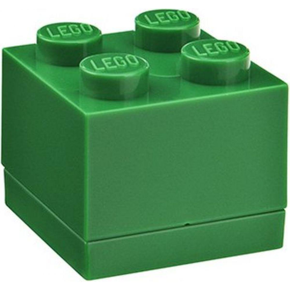 LEGO Mini Box 46x46x51 mm - Zelený