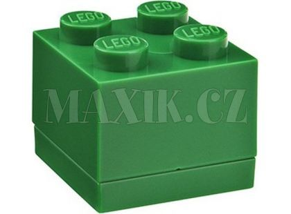 LEGO Mini Box 46x46x51 mm - Zelený