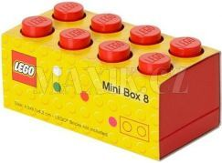 LEGO Mini Box 46x92x51 mm - Červený