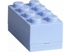 LEGO Mini Box 4,6x9,3x4,3cm Světle modrý