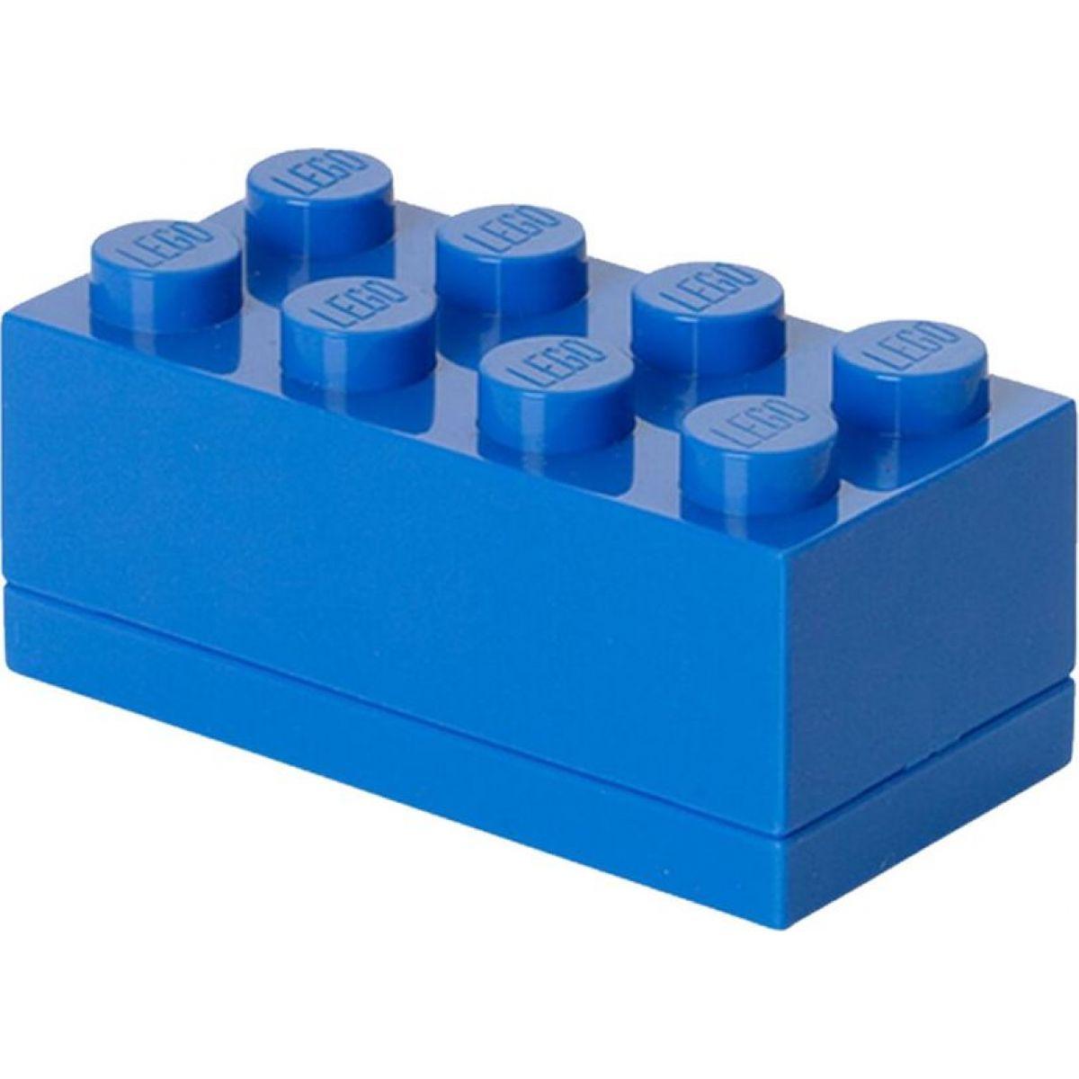 LEGO Mini Box 4,6x9,3x4,3cm Modrá