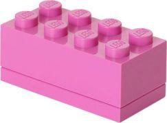 LEGO Mini Box 4,6x9,3x4,3cm Růžová
