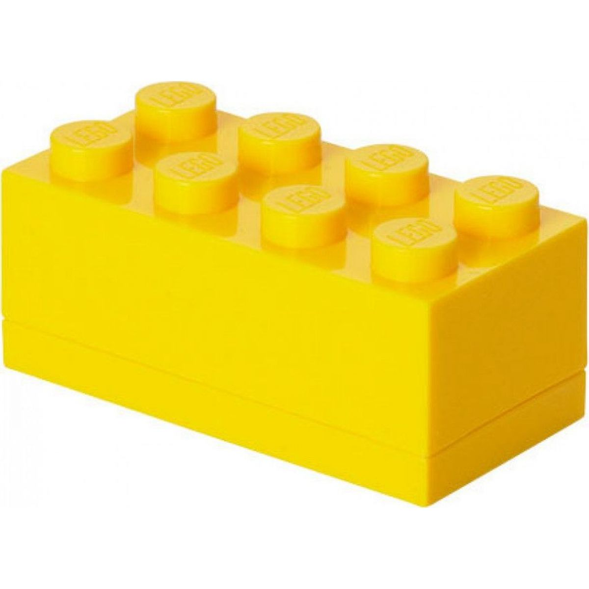 LEGO Mini Box 4,6x9,3x4,3cm Žlutá