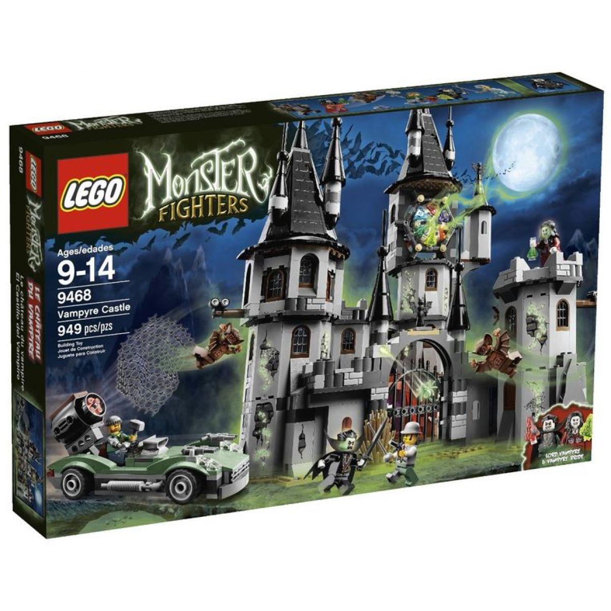 LEGO Monster Fighters 9468 Upírův hrad