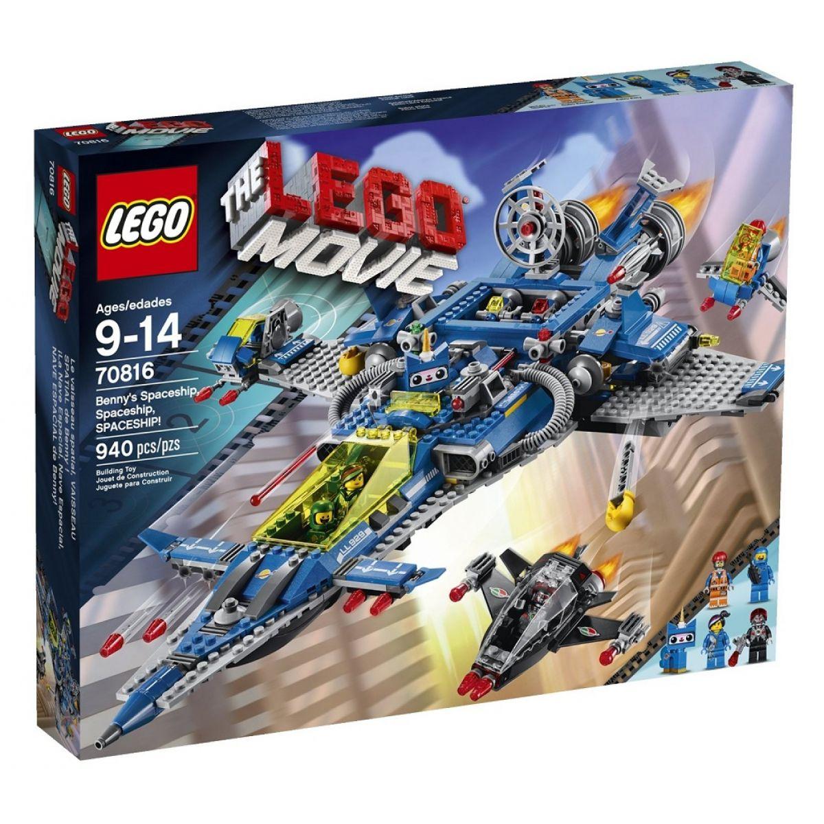 LEGO Movie 70816 Bennyho vesmírná loď