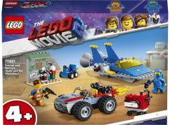 LEGO Movie 70821 Emmetova a Bennyho dílna Postav a oprav to!