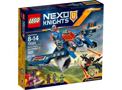 LEGO Nexo Knights 70320 Aaronův Aero Striker V2 - Poškozený obal