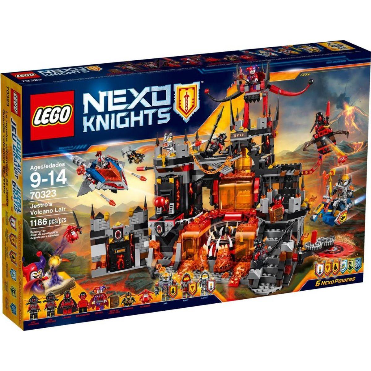 LEGO Nexo Knights 70323 Jestrovo sopečné doupě