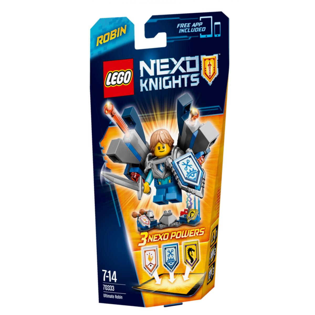 LEGO Nexo Knights 70333 Úžasný Robin