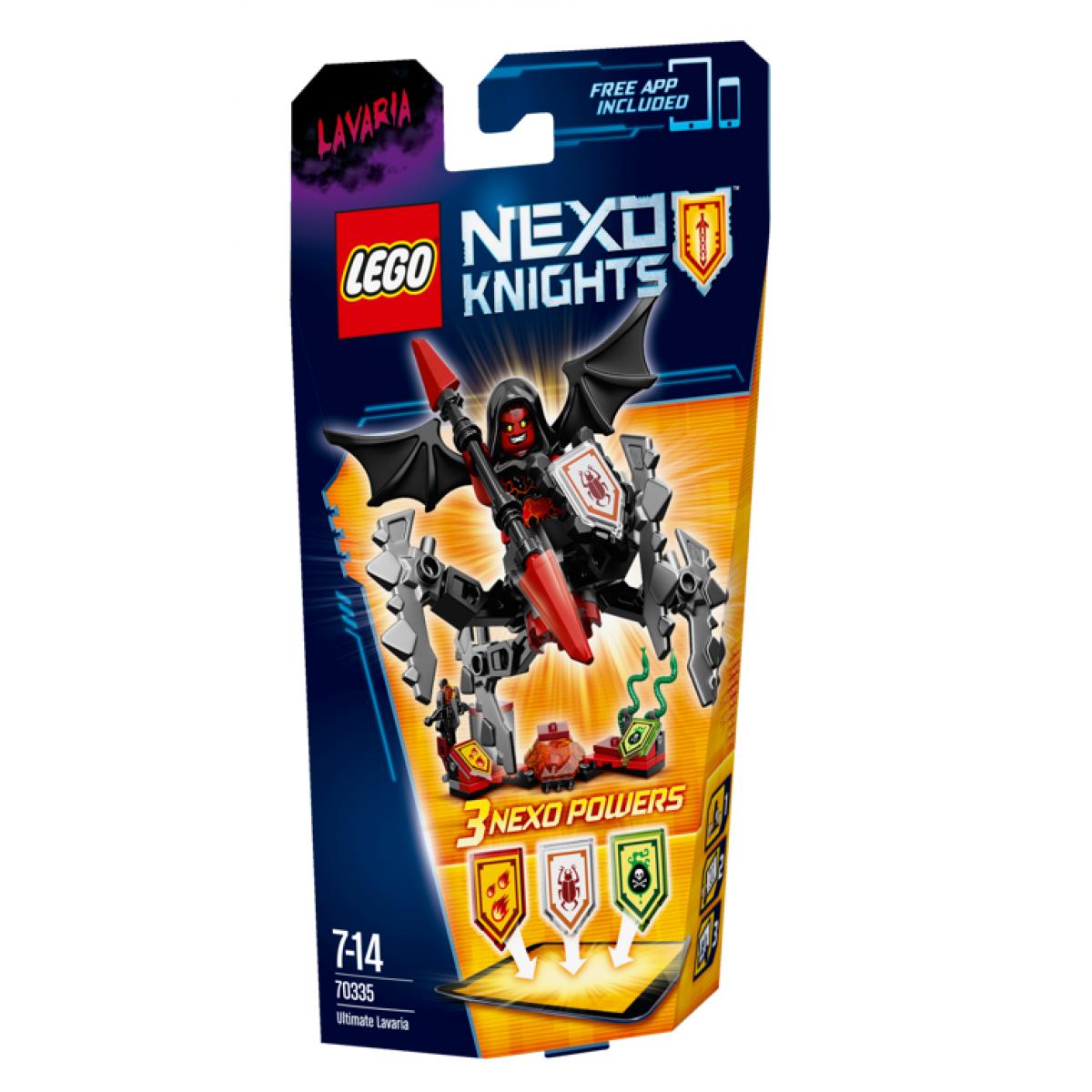 LEGO Nexo Knights 70335 Úžasná Lavaria