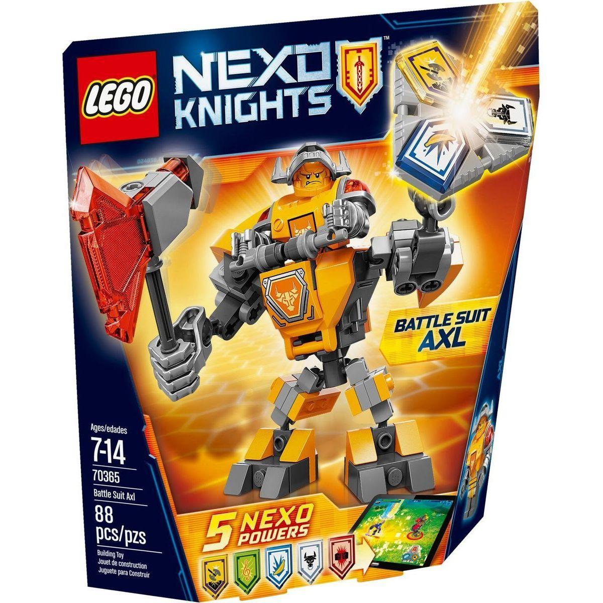LEGO Nexo Knights 70365 Axl v bojovém obleku