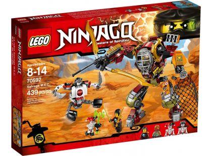 LEGO Ninjago 70592 Robot Salvage M.E.C. - Poškozený obal