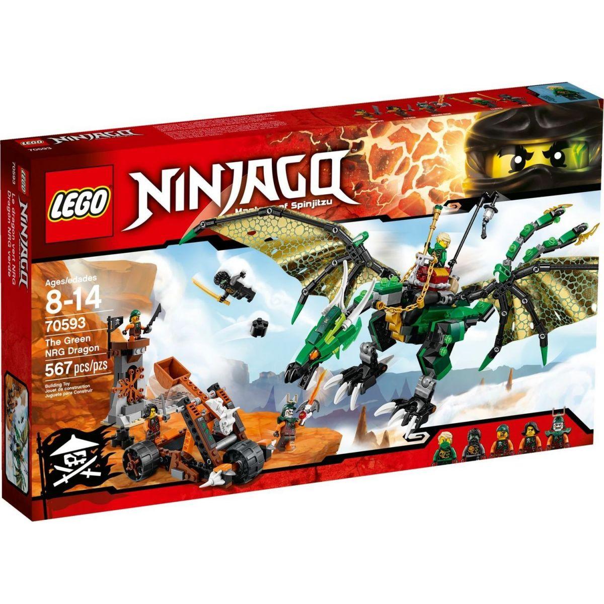 LEGO Ninjago 70593 Zelený drak NRG - Poškozený obal