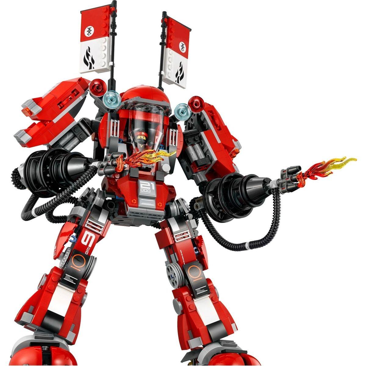 LEGO Ninjago 70615 Ohnivý robot   Maxíkovy hračky