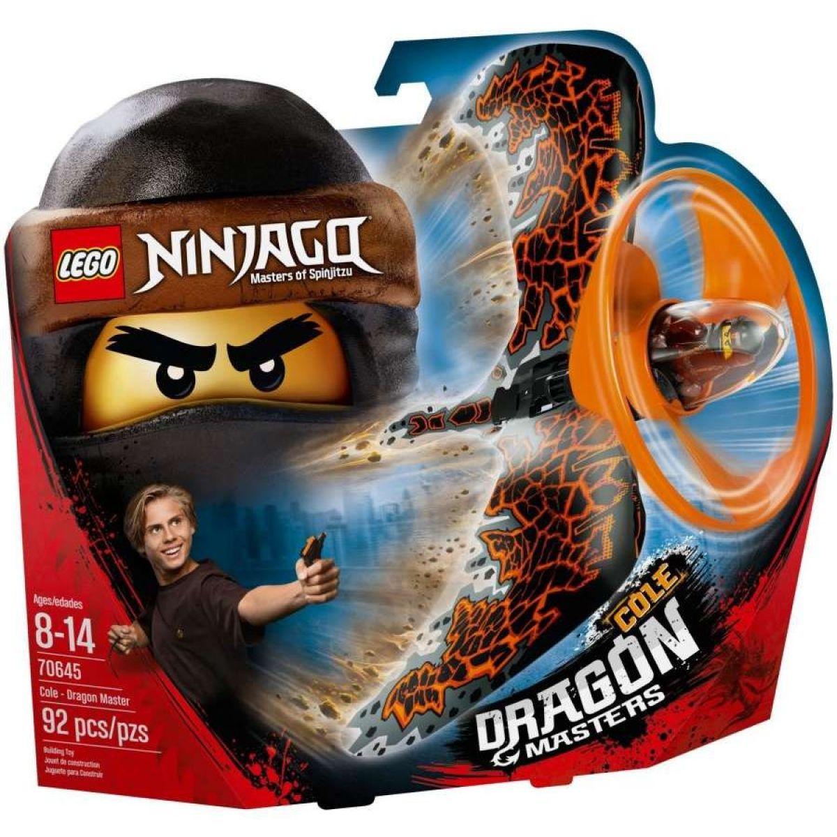 LEGO Ninjago 70645 Cole - Dračí mistr