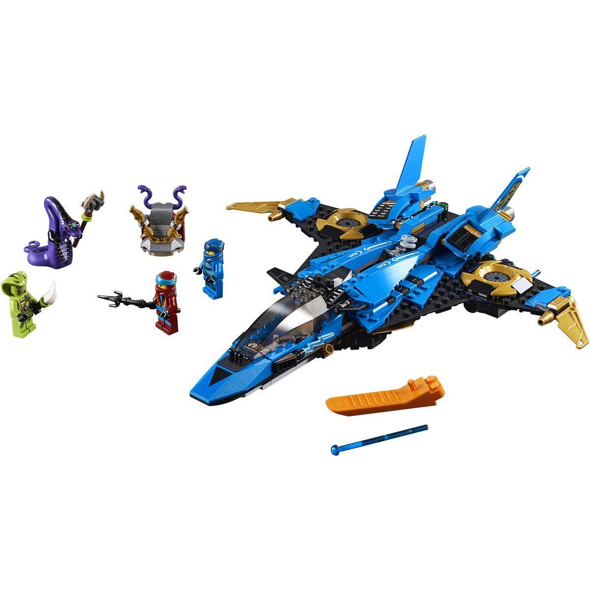 LEGO Ninjago 70668 Jayův bouřkový štít