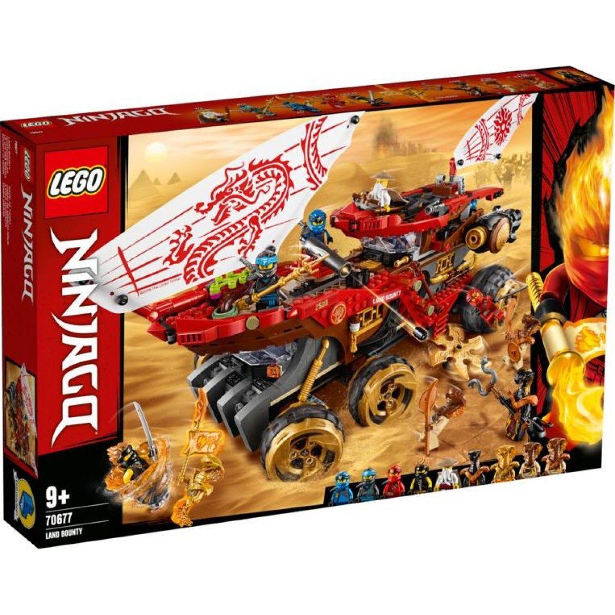 Lego Ninjago 70677 Pozemní Odměna osudu - Poškozený obal