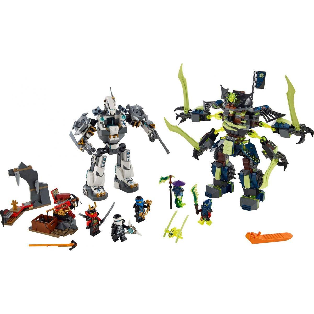 LEGO Ninjago 70737 Bitva s titánskými roboty #2