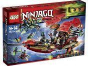 LEGO Ninjago 70738 Poslední let Odměny osudu - Poškozený obal