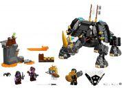 LEGO Ninjago 71719 Zaneův nindžorožec - Poškozený obal