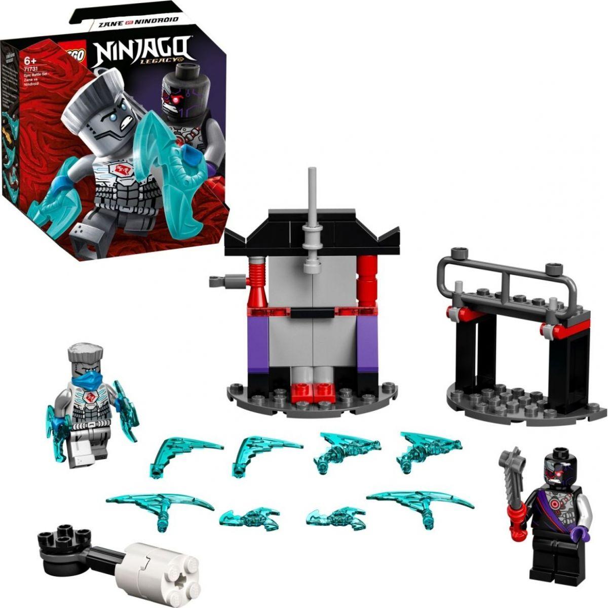 LEGO® NINJAGO® 71731 Epický souboj – Zane vs. Nindroid