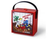 LEGO Ninjago box s rukojetí červený