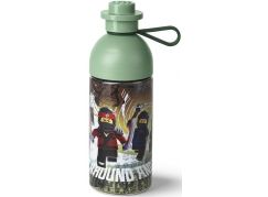 LEGO Ninjago Movie láhev transparentní 0,5L army zelená