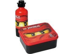LEGO Ninjago svačinový set červená