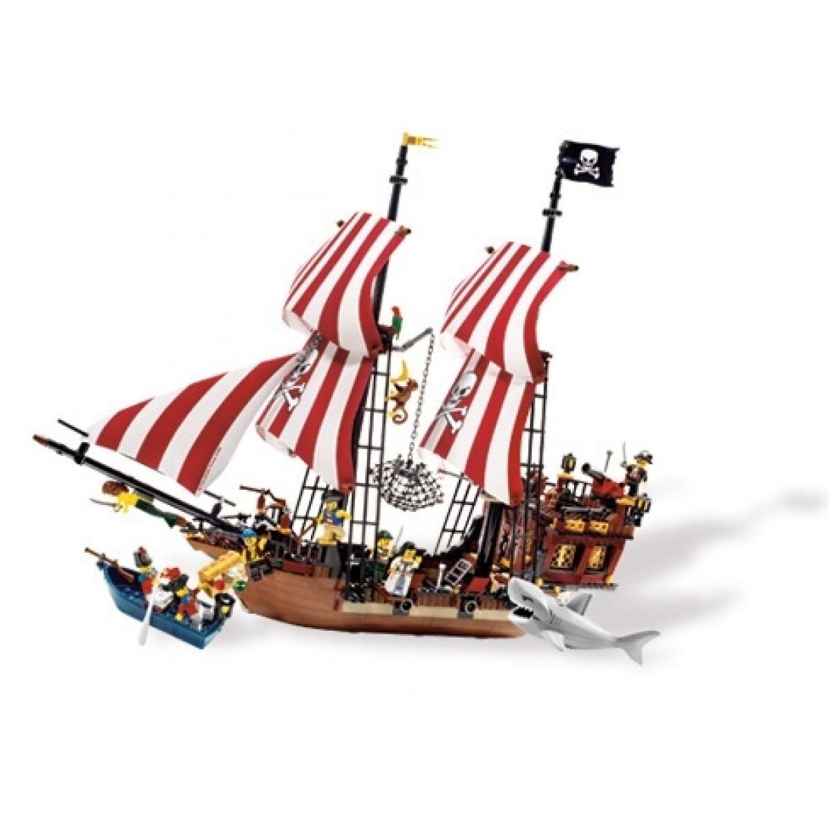 LEGO PIRÁTI Loď Brickbeard s Bounty