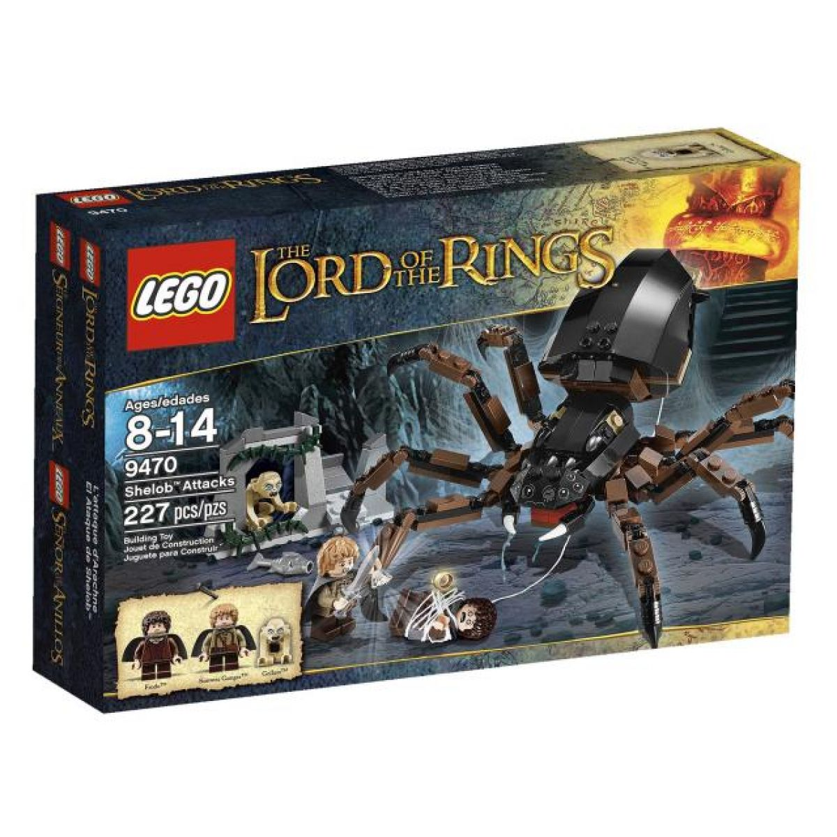 LEGO Pán Prstenů 9470 Shelob útočí
