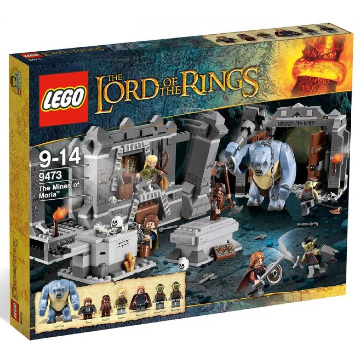 LEGO Pán Prstenů 9473 Doly v Morii