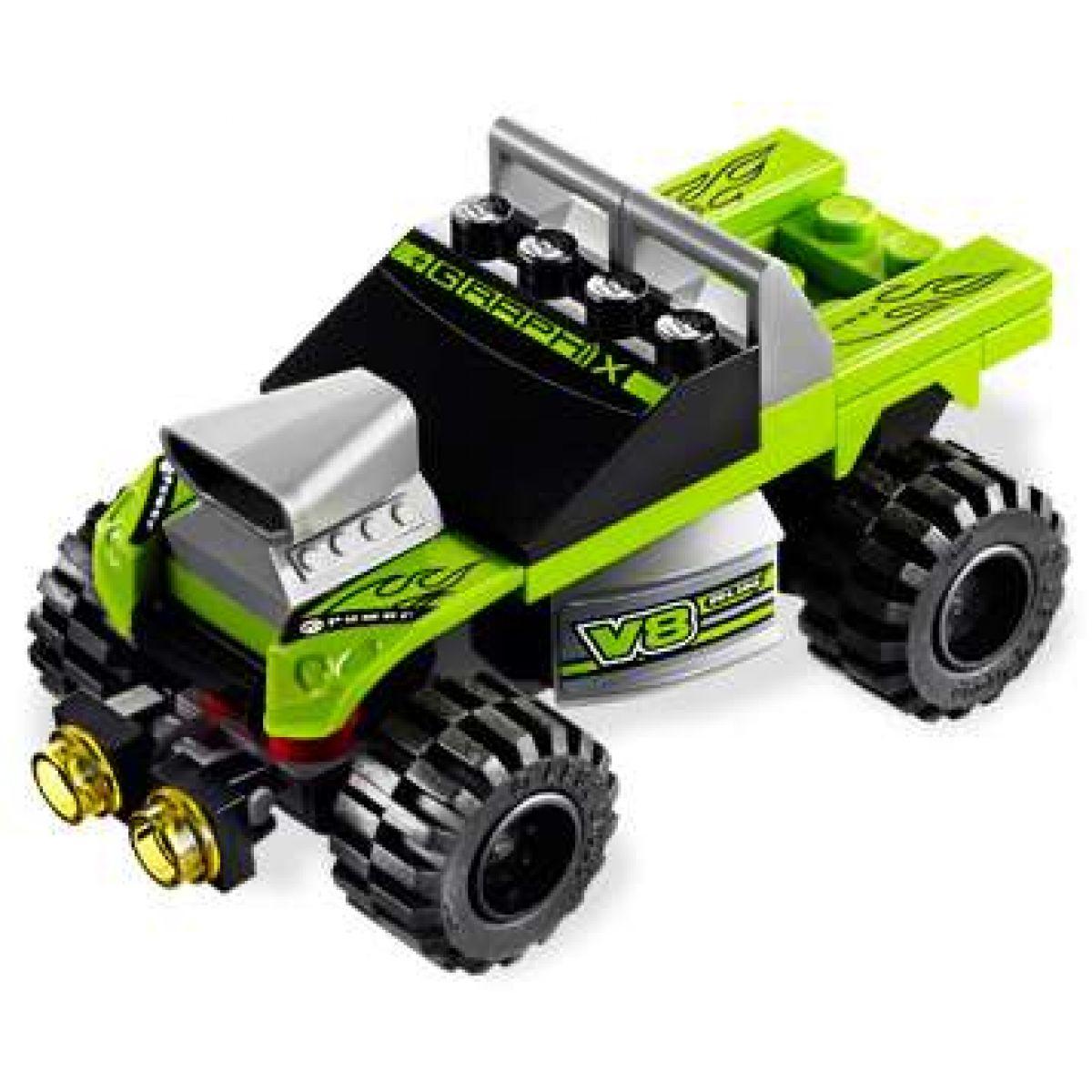 LEGO RACERS 8192 Zelený závoďák