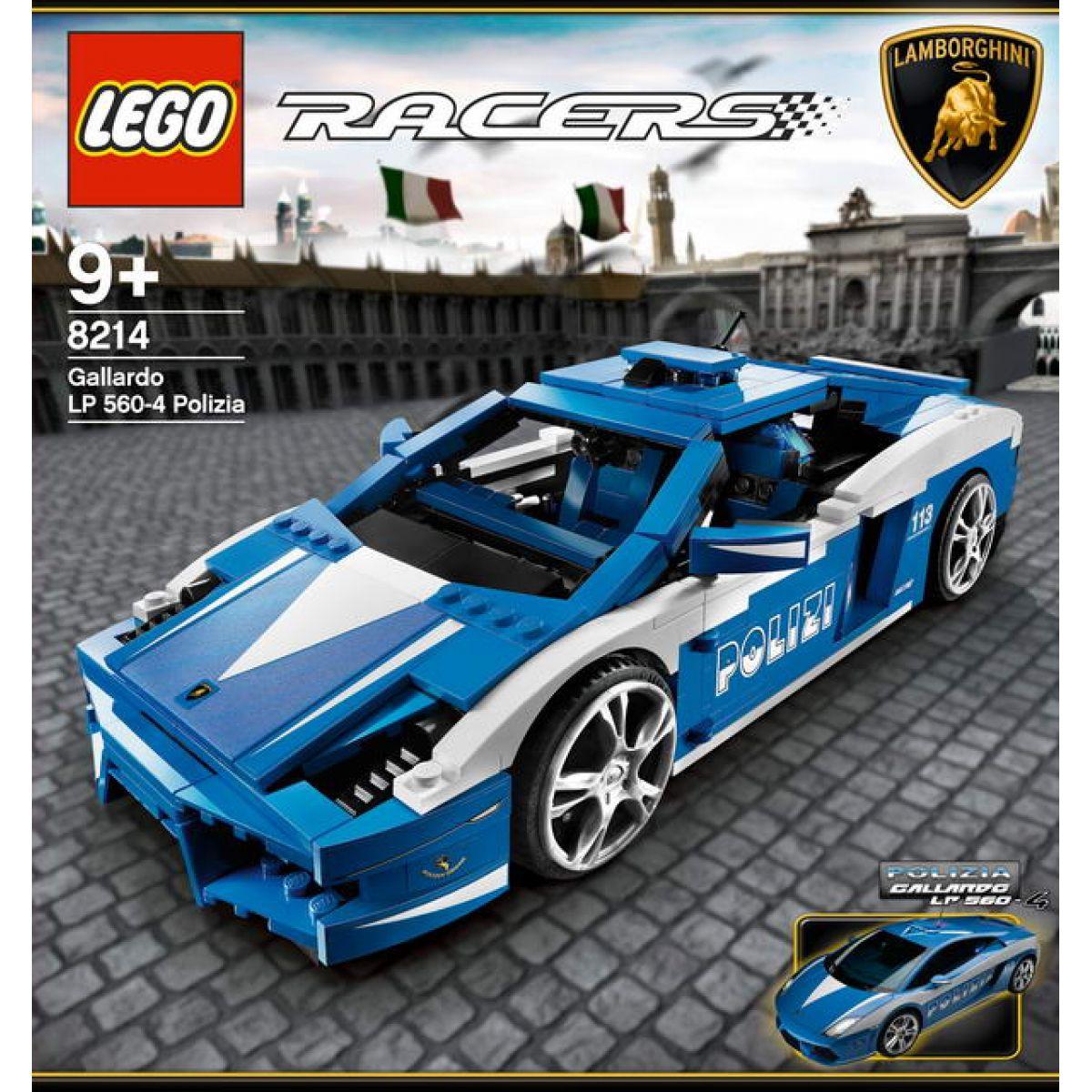 LEGO RACERS 8214 Lamborghini Polizia LP 560-4 Polizia