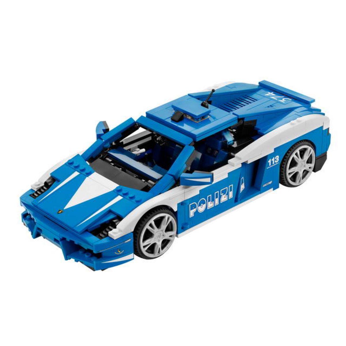 LEGO RACERS 8214 Lamborghini Polizia LP 560-4 Polizia #2