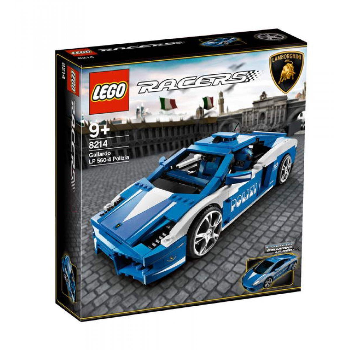 LEGO RACERS 8214 Lamborghini Polizia LP 560-4 Polizia #3