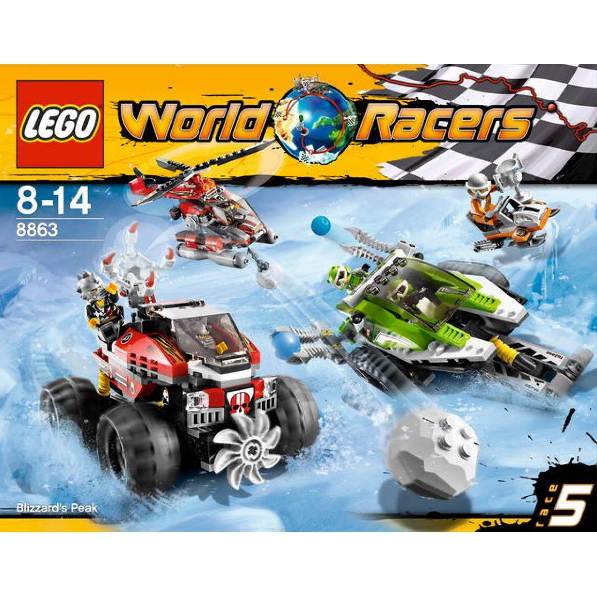LEGO RACERS 8863 Arktický závod