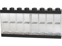 LEGO Sběratelská skříňka na 16 minifigurek Černá