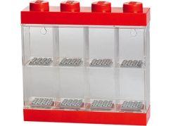 LEGO sběratelská skříňka na 8 minifigurek - červená