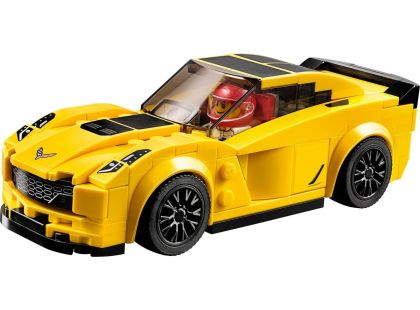 LEGO Speed Champions 75870 Chevrolet Corvette Z06 - Poškozený obal