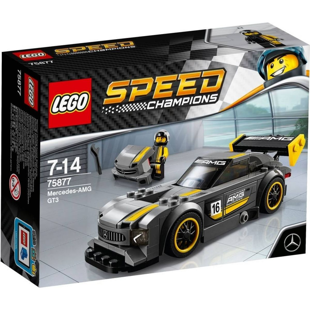 LEGO Speed Champions 75877 Mercedes AMG GT3