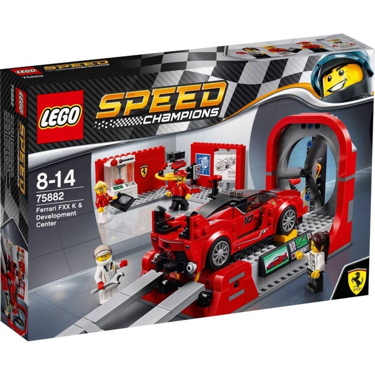 LEGO Speed Champions 75882 Ferrari FXX K a vývojové centrum