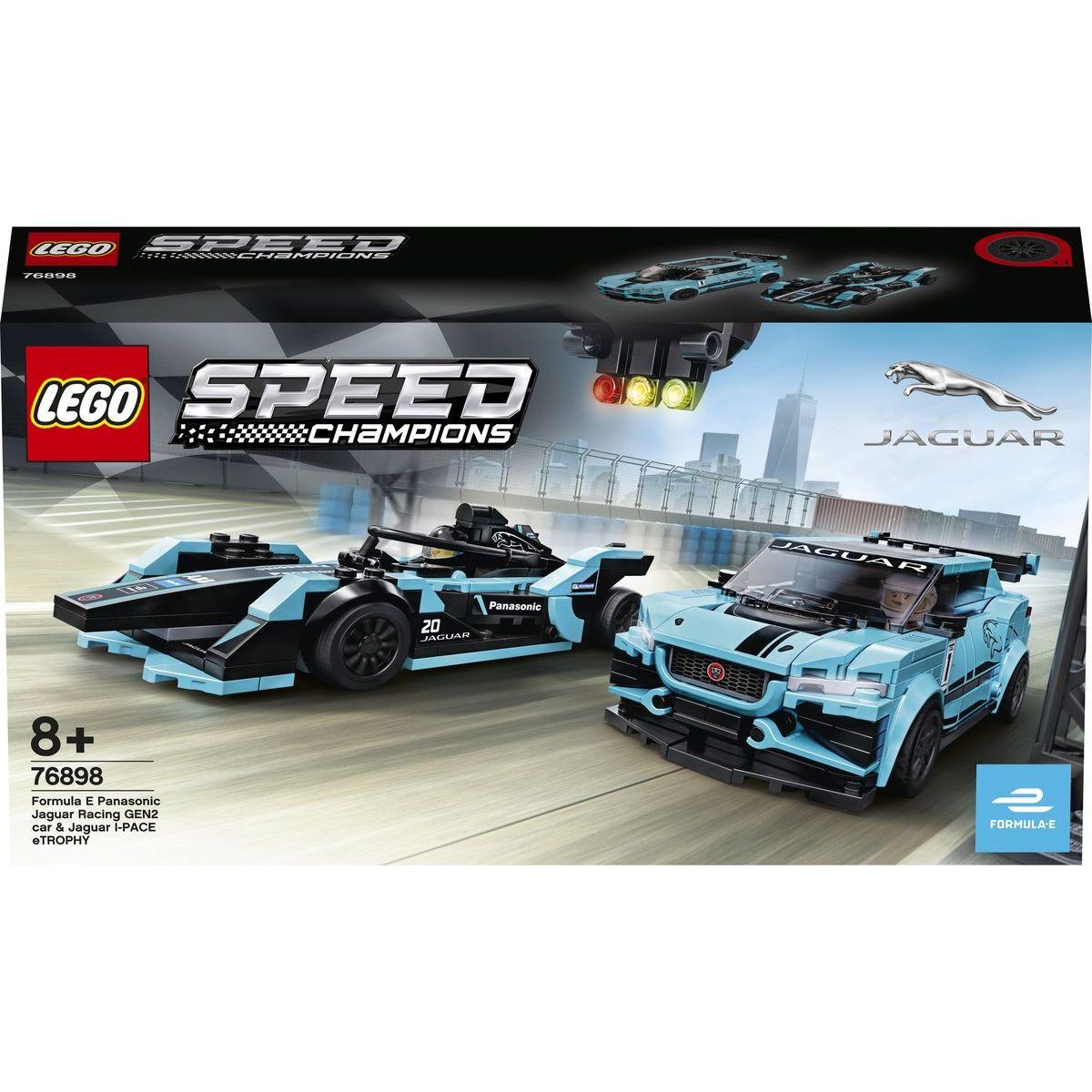 LEGO Speed Champions 76898 Formula E Panasonic Jaguar Racing GEN2