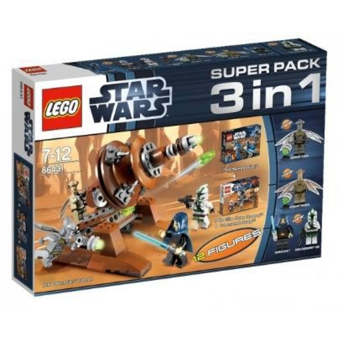 LEGO Star Wars 66431 Super Pack 3v1