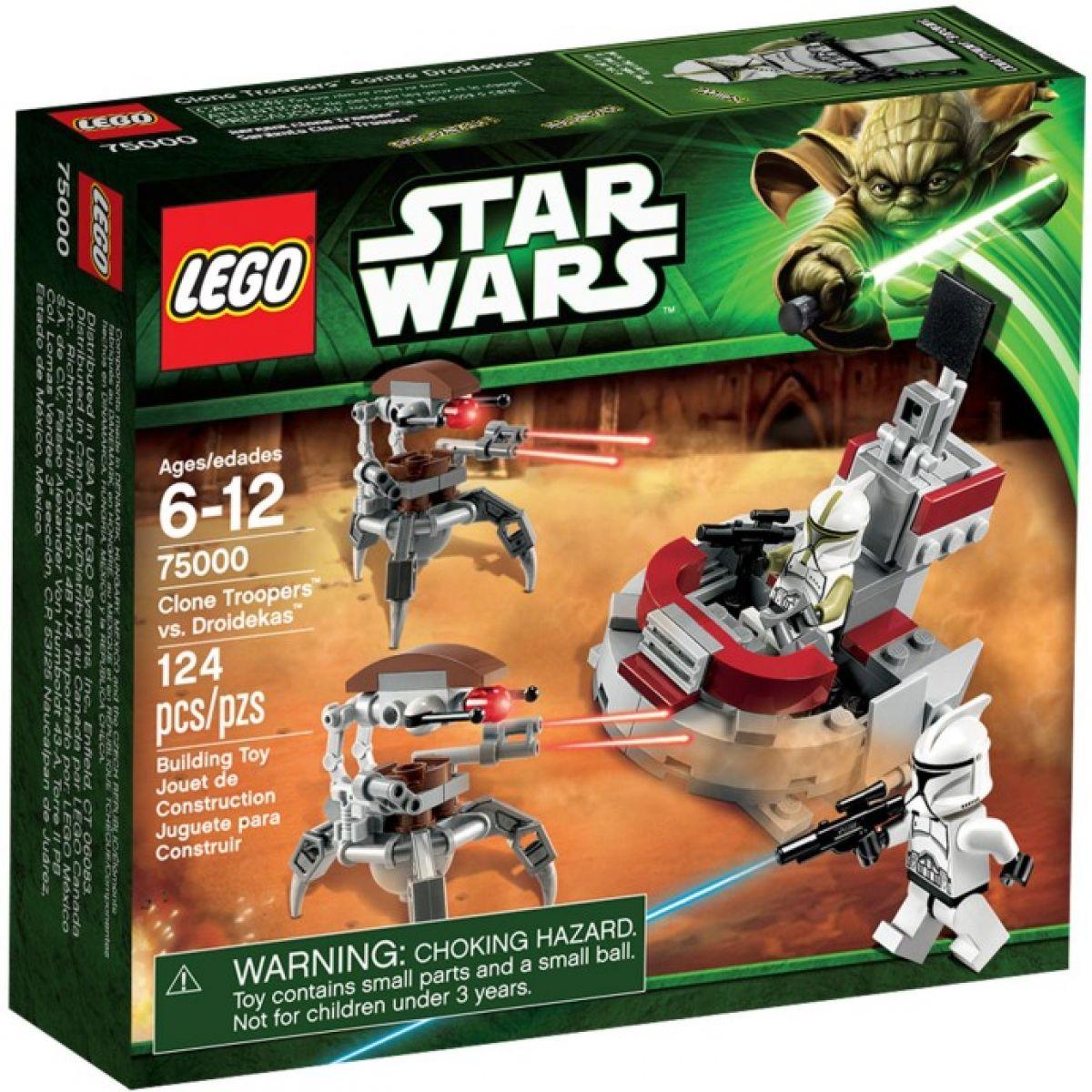 LEGO Star Wars 75000 Clone Trooper vs. Droidekas